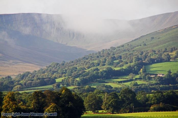 Llwyn-y-fron, Brecon Beacons National park