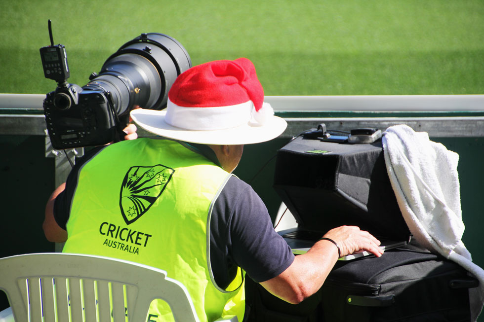 Santa working for Austrlian media