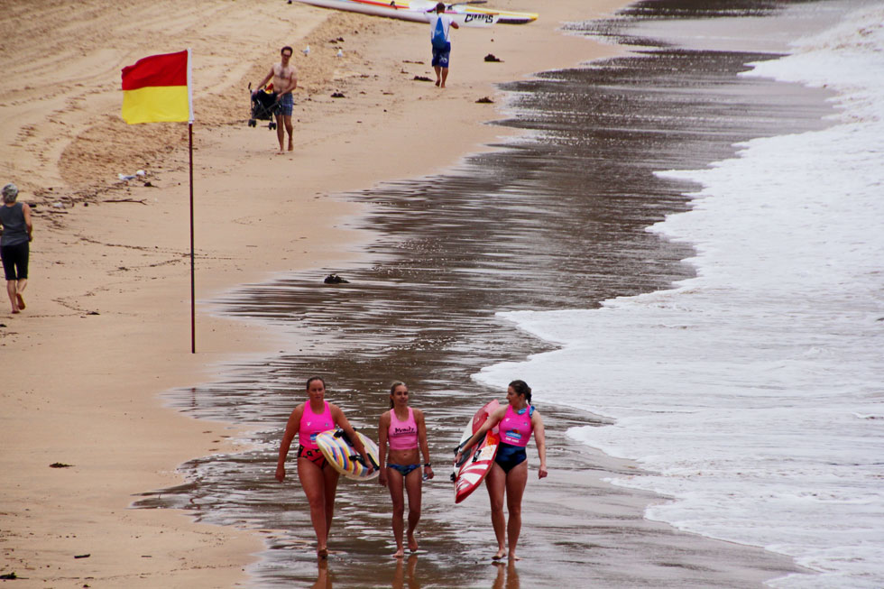Manly Beach - the start.