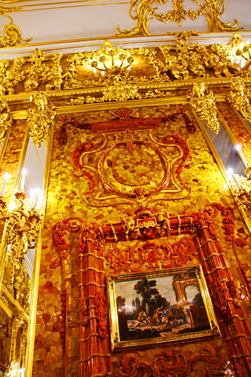 Amber Room central panel.
