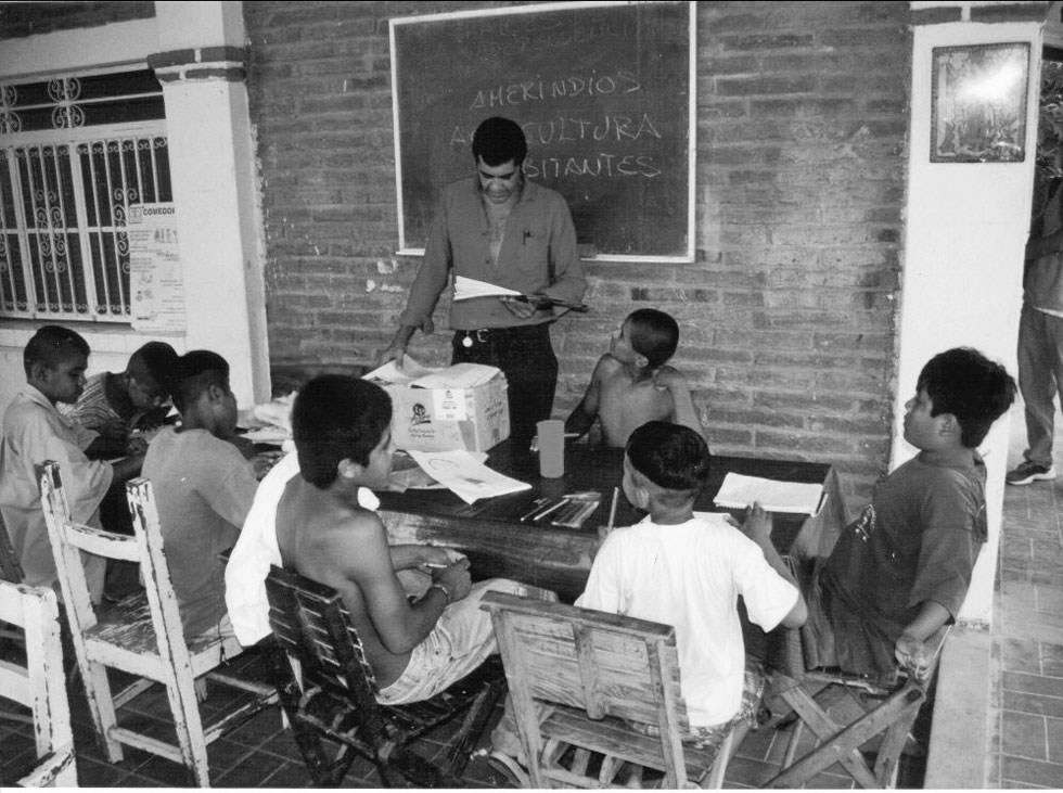 One of New Life Mexico's first ever education classes.