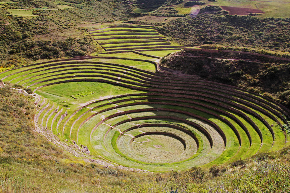 Moray - the Inca's Andean agricultural laboritory.