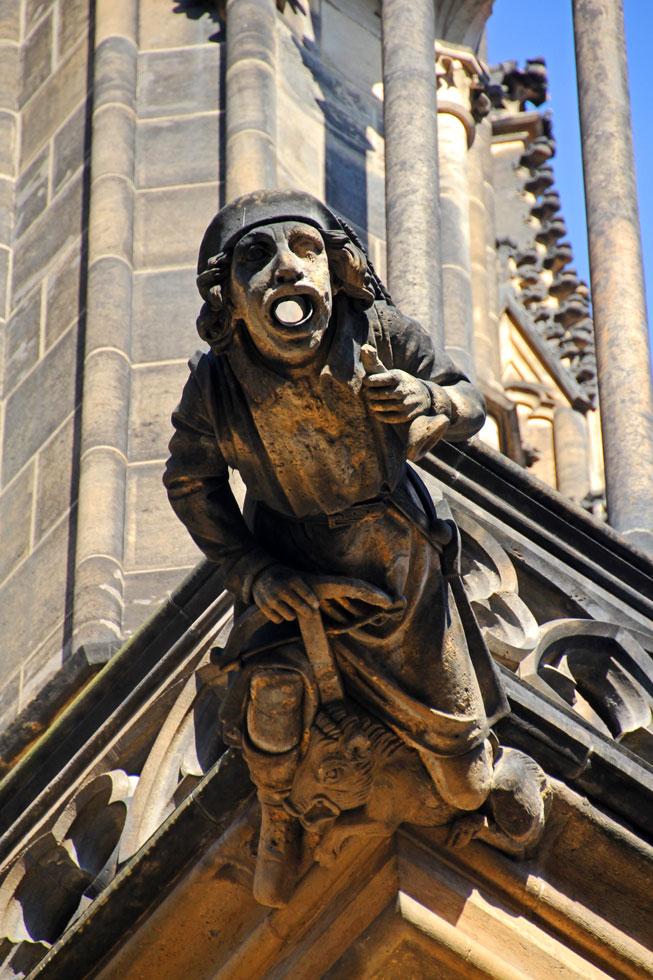 St Vitus gargoyle