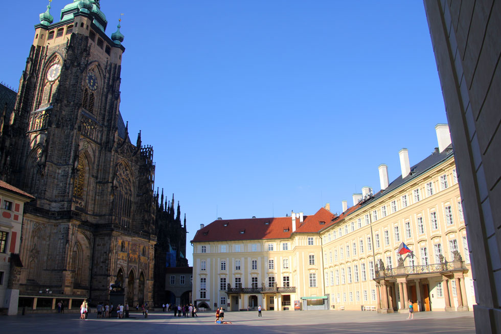 St Vitus's Cathedral and Royal Palace, Third Courtyard