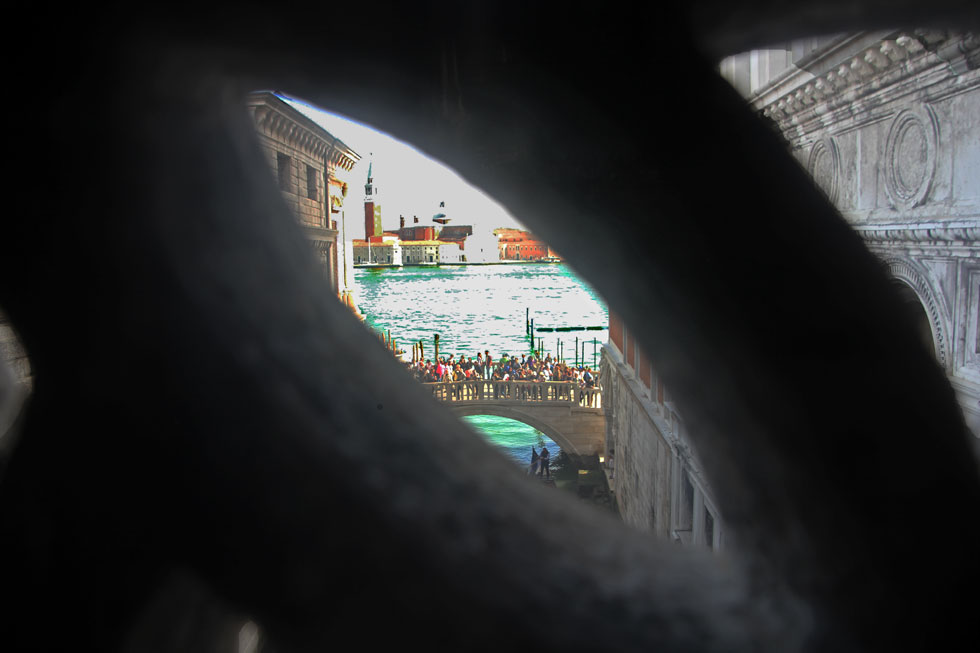 View that gives name to Bridge of Sighs.