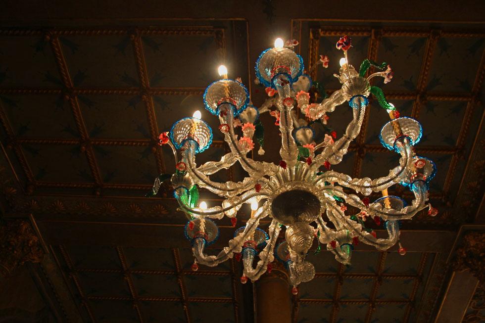 Bar lighting Danieli-style.
