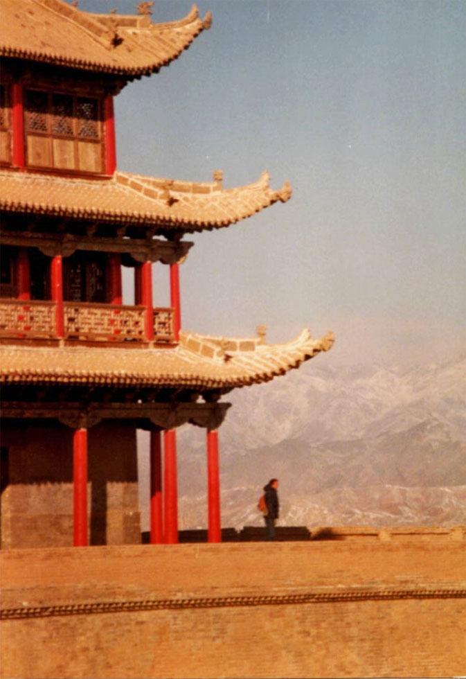 jiayuguan-fort-pagoda-views