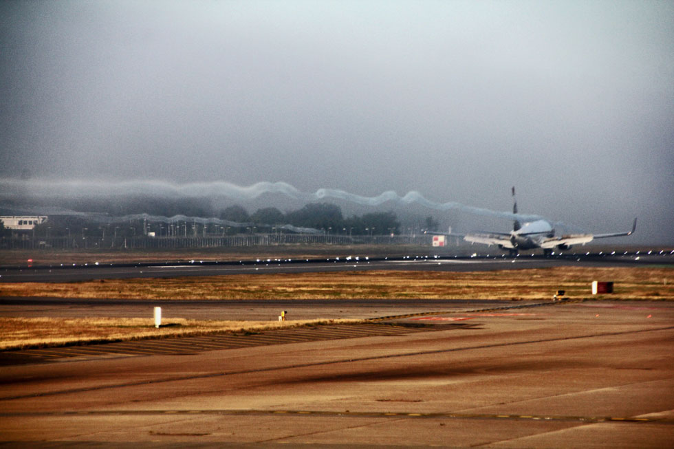 London Heathrow - over 1,300 takeoffs and landings a day