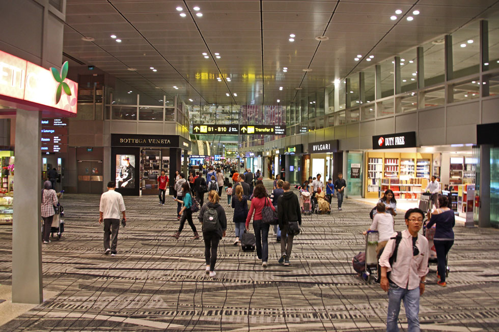 Airport, shopping mall, entertainment centre