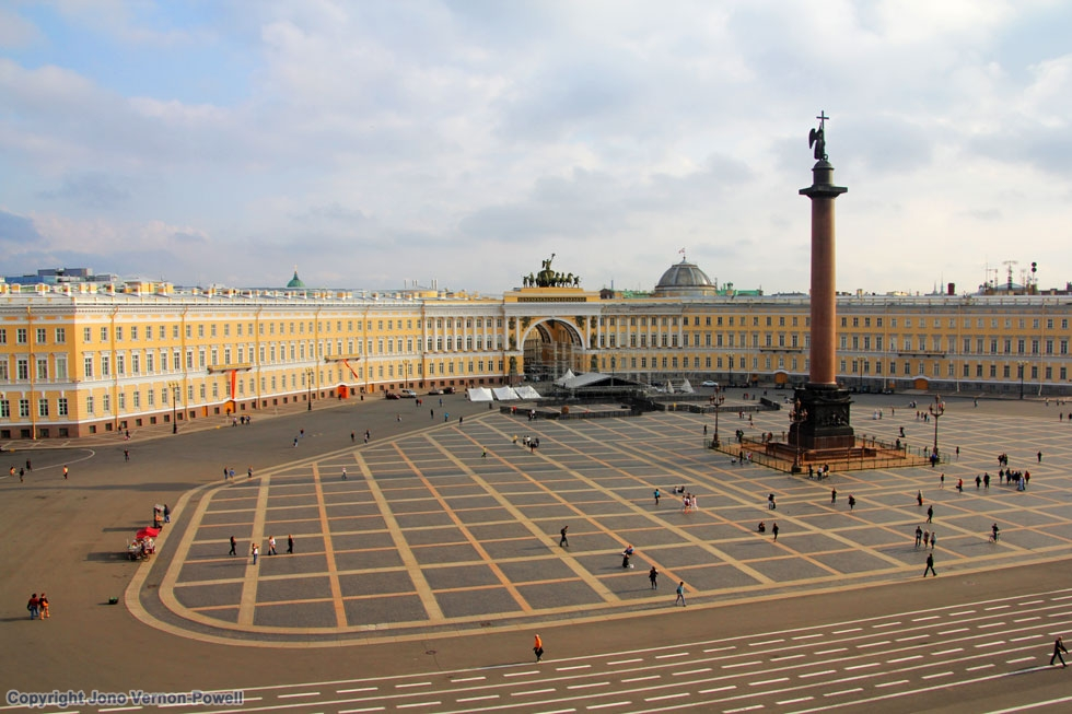 Hermitage Amp Palace Square St Petersburg Russia 27 11