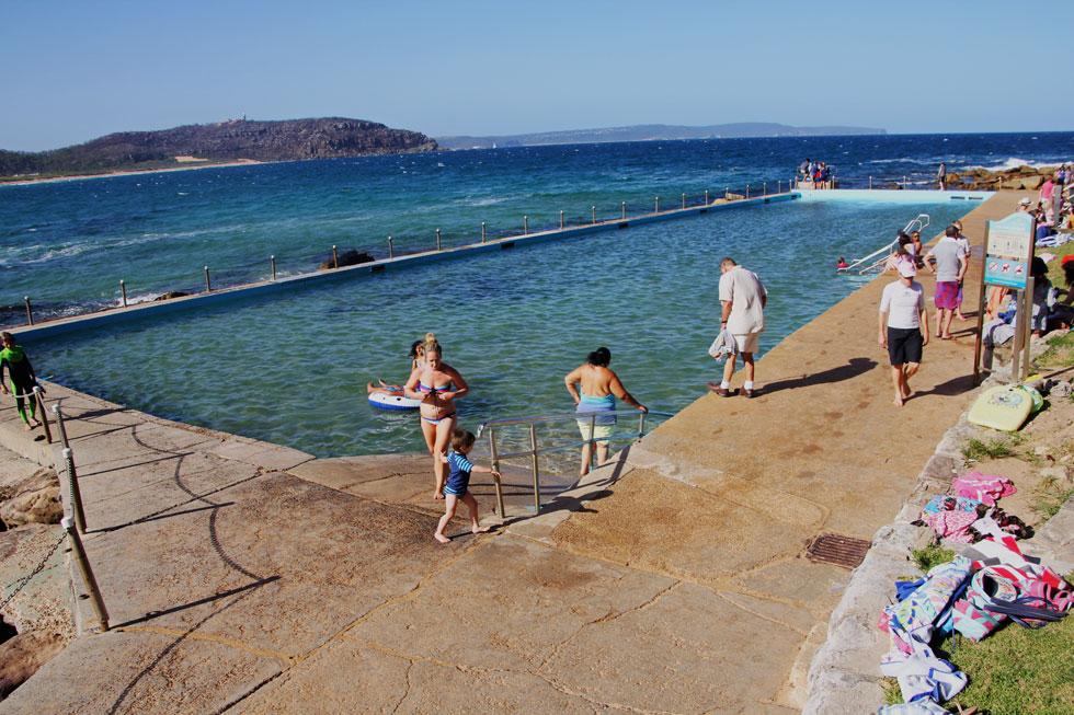 Cabbage Tree Harbour Pool