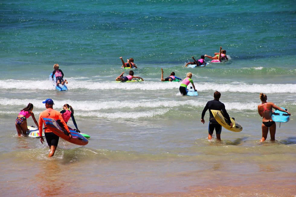 Manly Junior Surf Team