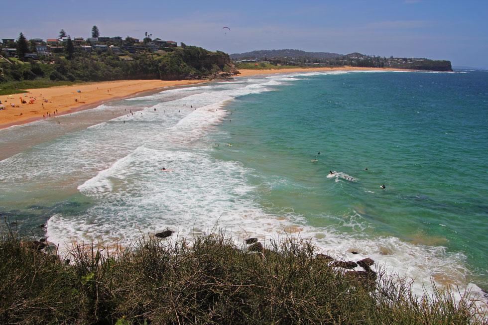 Narrabeen Beach.