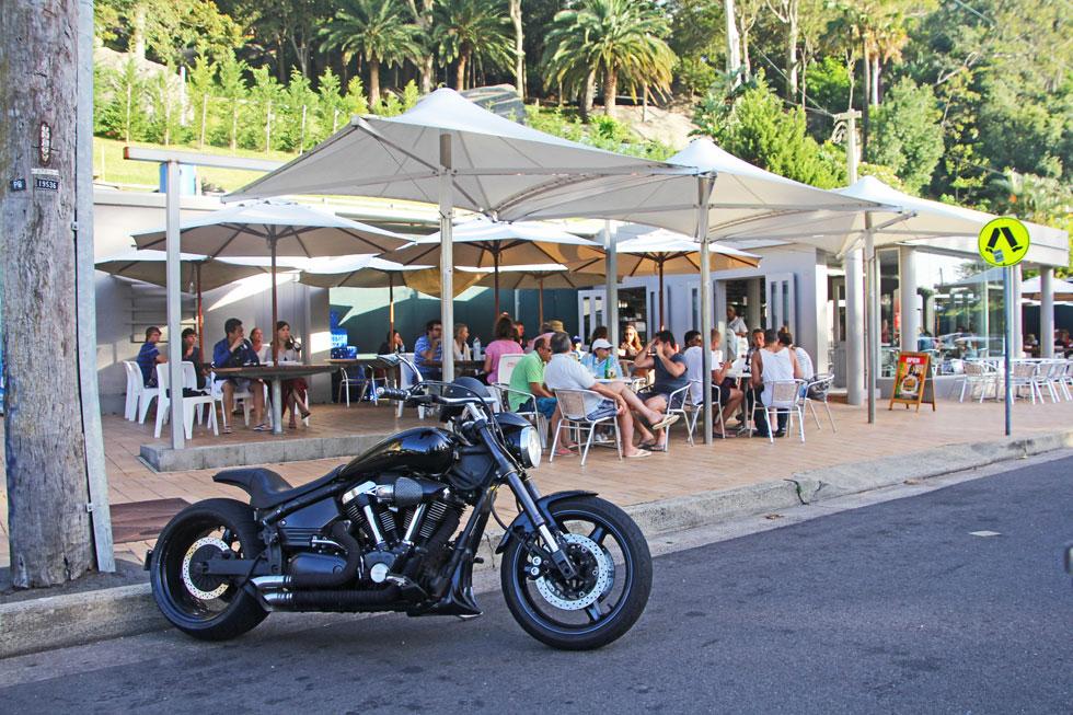 Palm Beach Cafe.