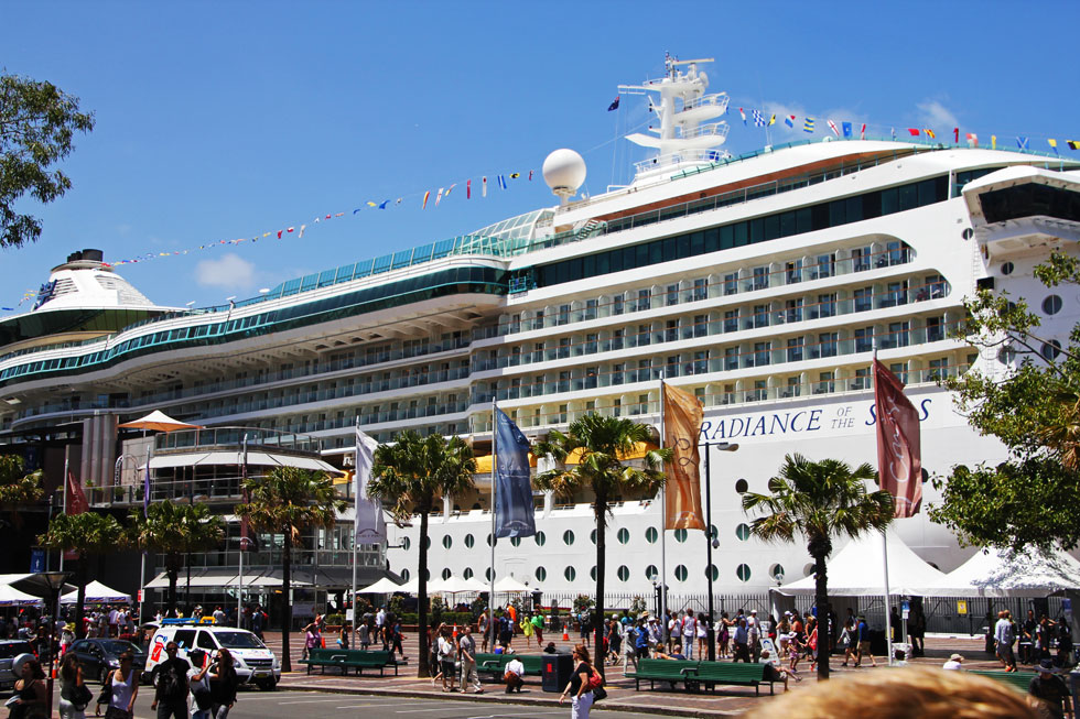 Cruise ships - tough business, providing fresh water for over up to 6,000 passengers and crew.