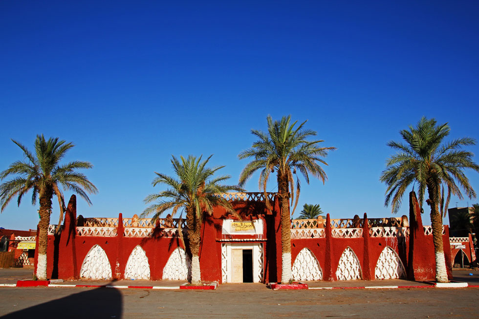 My favourite Tourist Office building - in one of the driest places on earth. Timimoun, Southern Sahara.