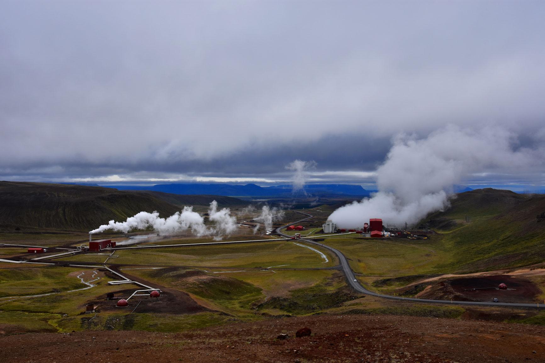 Bjarnarflag Power Station.
