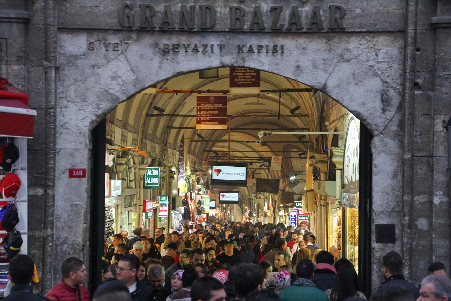 Grand Bazaar Istanbul Turkey 25 02 18 Jonovernon